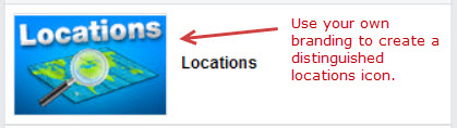 Custom Store Locator Software Icon