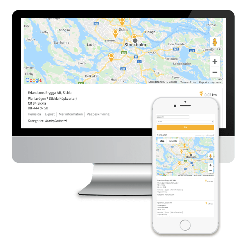 Sika Group international distributor locator software