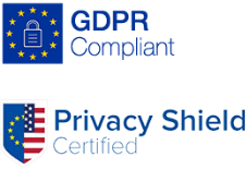 GDPR and Privacy Shield compliant